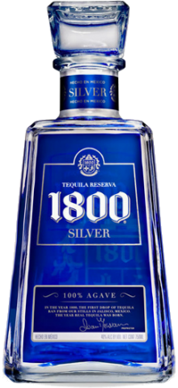1800 SILVER TEQUILA 375ML Spirits TEQUILA