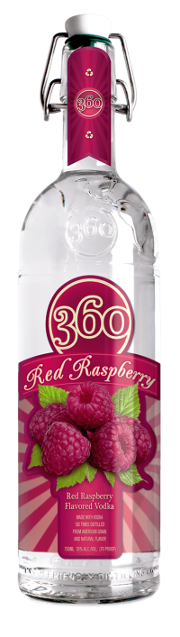 360 Red Raspberry 750ml