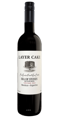Layer Cake Sea of Stones Red 750ml