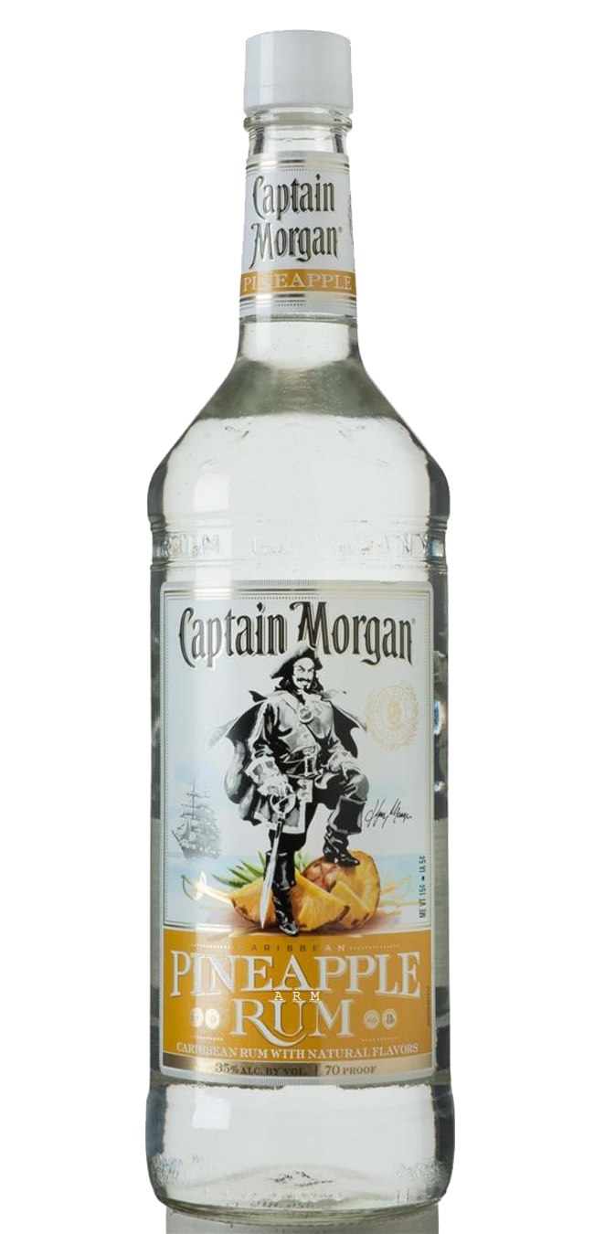 Captain Morgan Pineapple Rum 750ml Luekens Wine Spirits