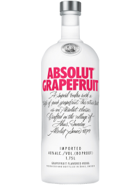Absolut Grapefruit Swedish Vodka 1.75L