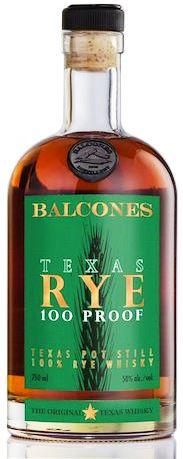 Balcones Texas Rye 100pf