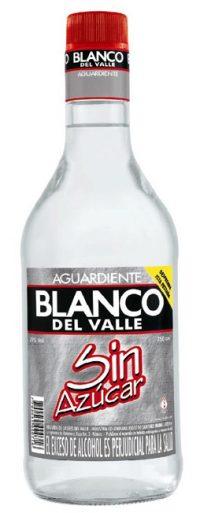 Blanco del Valle Aguardiente Sin Azucar
