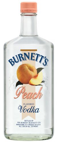 Burnetts Peach Vodka