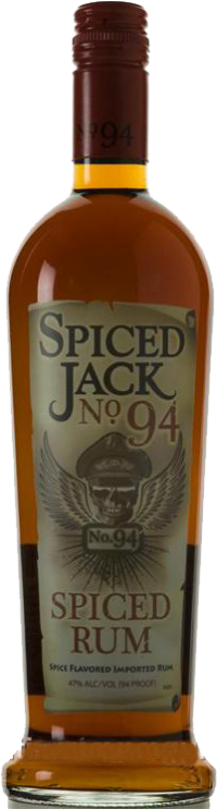 CALICO JACK RUM BLACK SPICED 94