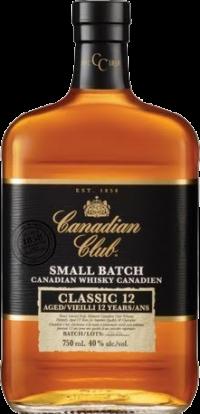 CANADIAN CLUB SM BATCH CLASSIC 80 1.75L