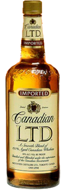 CANADIAN LTD WHISKY 1.0L Spirits CANADIAN WHISKY