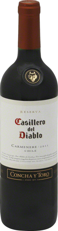 CASILLERO DEL DIABLO CARMENERE 750ML Wine RED WINE