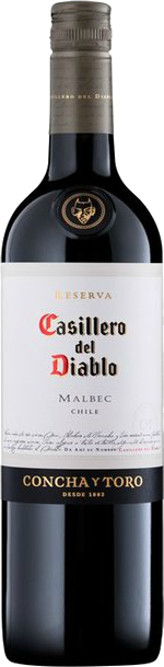 CASILLERO DEL DIABLO MALBEC 750ML Wine RED WINE