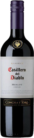 CASILLERO DEL DIABLO MERLOT 750ML Wine RED WINE