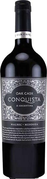 CONQUISTA OAK CASK MALBEC 750ML_750ML_Wine_RED WINE