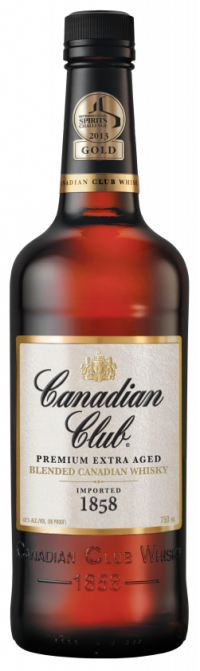 Canadian Club 1858 Whisky 750ml