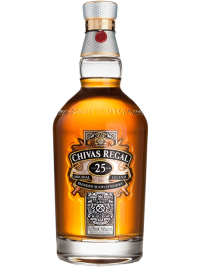Chivas Regal Scotch Whisky Scotland 25 Yo Blended 750ml Bottle
