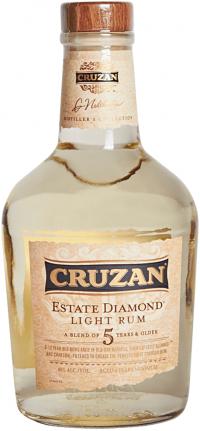 Cruzan Est Diamond Light Rum 750ml