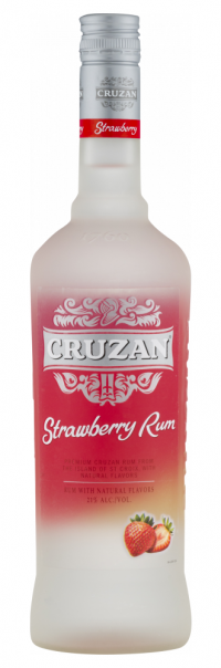 Cruzan Rum Strawberry Rum 750ml