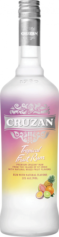 Cruzan Tropical Fruit Rum 750ml