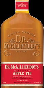 DR McGILLICUDDYS APPLE PIE 750ML Spirits CORDIALS LIQUEURS
