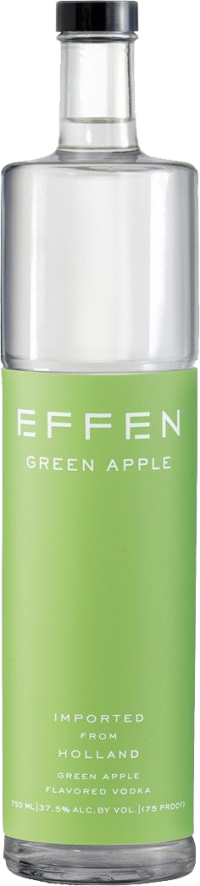 EFFEN VOD GREEN APPLE 75 1.75L