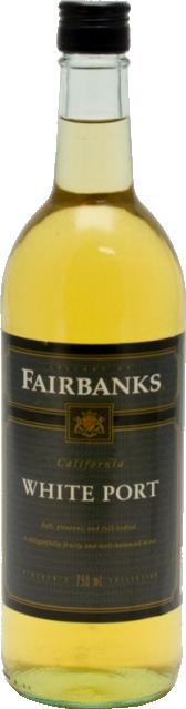 FAIRBANKS WHITE PORT WINE 750ML_750ML_Wine_DESSERT & FORTIFIED WINE