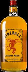 FIREBALL 1.0L Spirits CANADIAN WHISKY