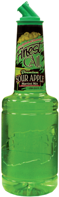 Finest Call Sour Apple Mixer 1.0L