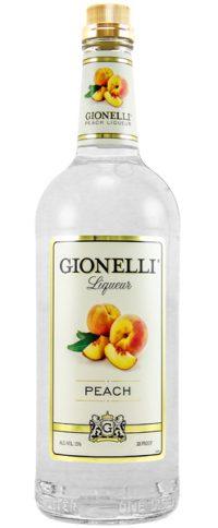 Gionelli Peach Liqueur 1.75L