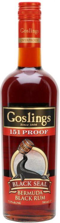 Goslings Black Seal 151 Rum