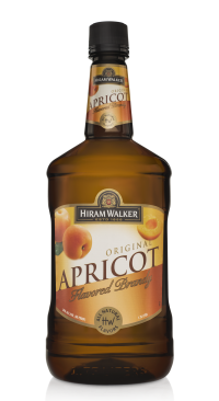 HIRAM WALKER Apricot Brandy 60 Proof 1.75L