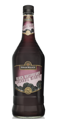 HIRAM WALKER Black Raspberry Liqueur 33P 1L