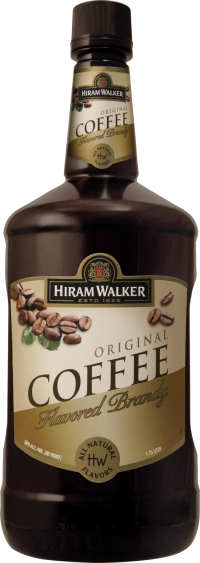 HIRAM WALKER Coffee Brandy 60 Proof 1.75L