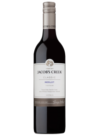Jacob's Creek Wine Australia Classic Merlot 750ml Bottle