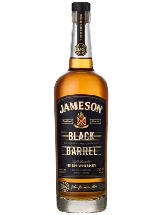 Jameson Irish Whiskey Ireland Black Barrel 750ml Bottle