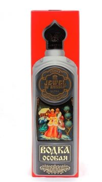 Jewel Of Russia Ultra Hand Painted Vodka