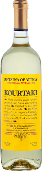 KOURTAKI RETSINA 750ML_750ML_Wine_WHITE WINE