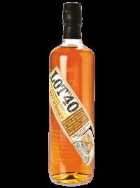 Lot No. 40 Whisky Canada Single Copper Pot Still 750ml Bottle