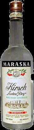 MARASKA KIRSCHWASSER BRANDY 750ML Spirits CORDIALS LIQUEURS