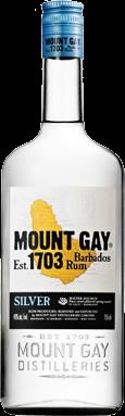 MOUNT GAY ECLIPSE SILVER 750ML Spirits RUM