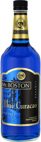 MR BOSTON BLUE CURACAO 1.0L Spirits CORDIALS LIQUEURS