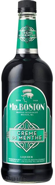 Mr Boston Creme De Menthe Dark
