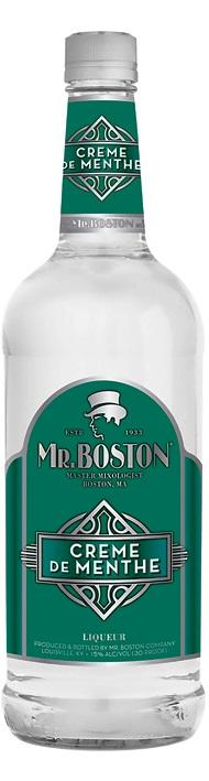 Mr Boston Creme De Menthe Light
