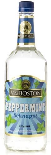 Mr Boston Peppermint Schnapps