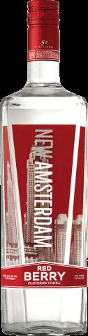 NEW AMSTERDAM RED BERRY 1.0L Spirits VODKA