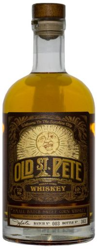 Old St Pete Sweet Corn Whiskey 750ml