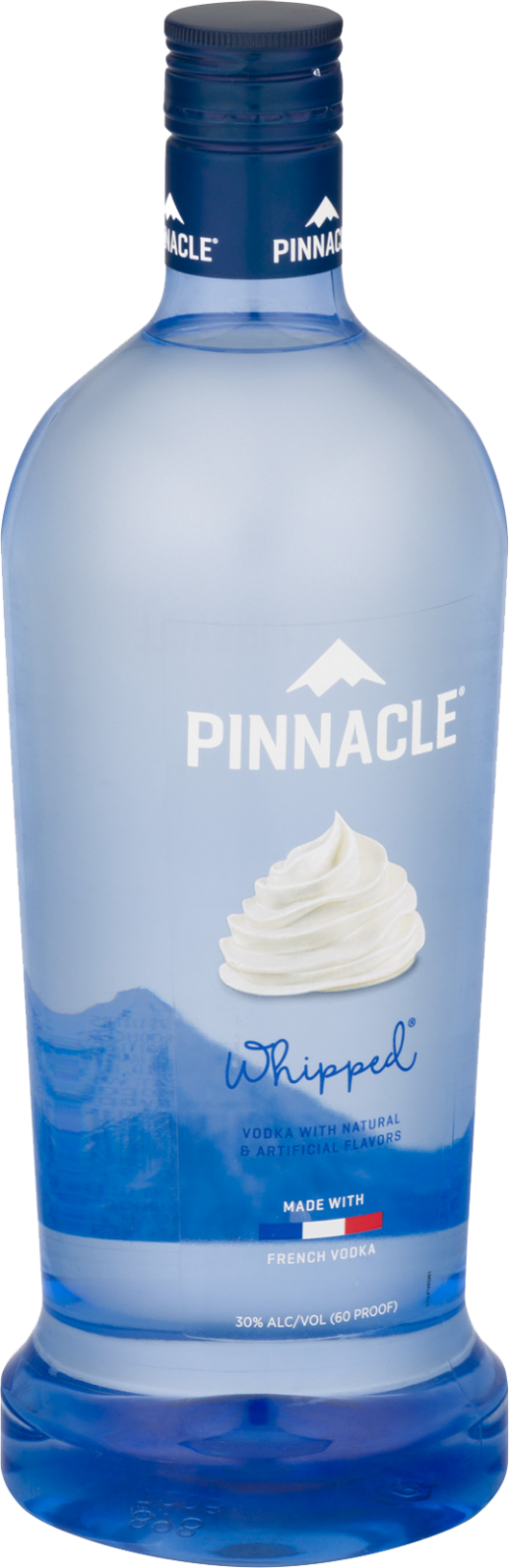PINNACLE VOD WHIPPED 60 PET 1.75L