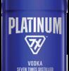 PLATINUM PET 750ML Spirits VODKA