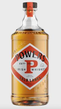 Powers Gold Irish Whiskey 750ml