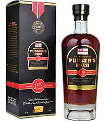 Pussers British Navy 15Yr Rum