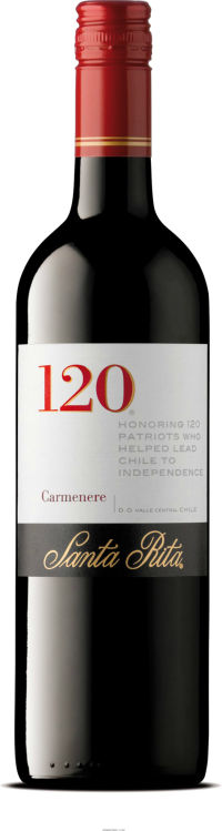SANTA RITA 120 CARMENERE 750ML Wine RED WINE