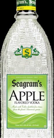 SEAGRAMS GREEN APPLE 1.75L Spirits VODKA