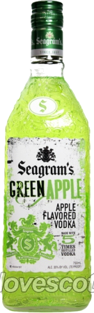 SEAGRAMS GREEN APPLE 750ML Spirits VODKA